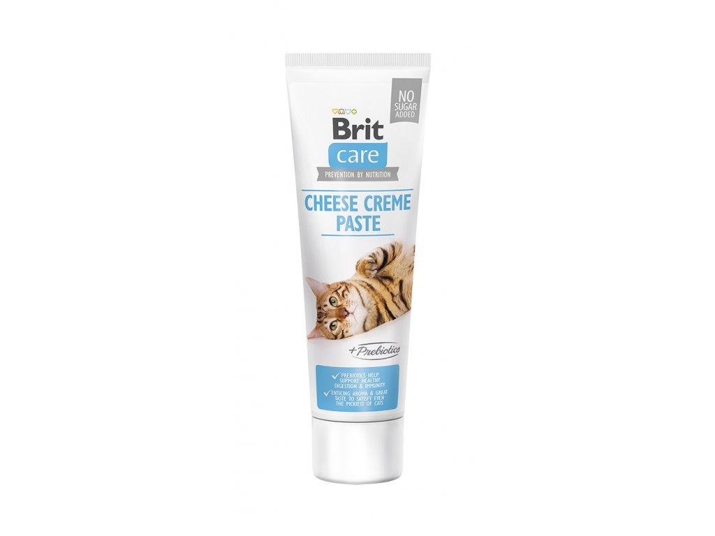 Brit Care Cat Paste Cheese Creme enriched with Prebiotics 100 g