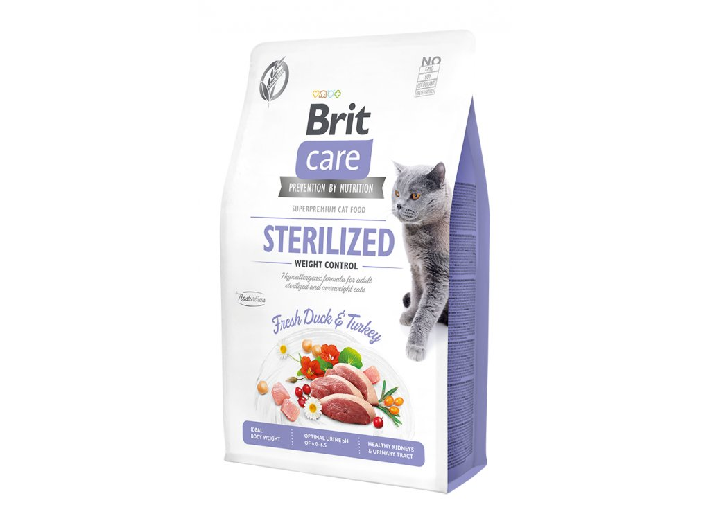 Brit Care Cat Grain-Free Sterilized Weight Control 400 g