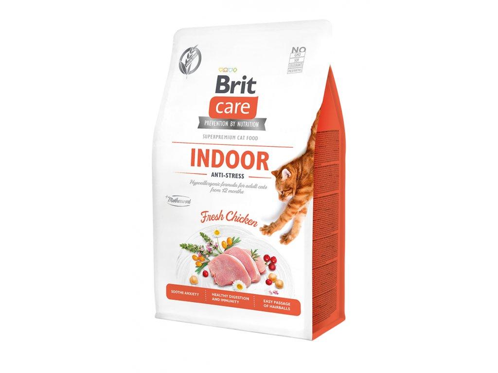 Brit Care Cat Grain-Free Indoor Anti-stress 400 g