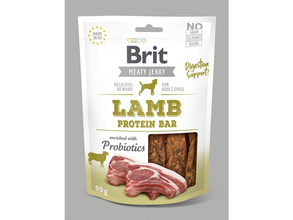 Brit Jerky Lamb Protein Bar