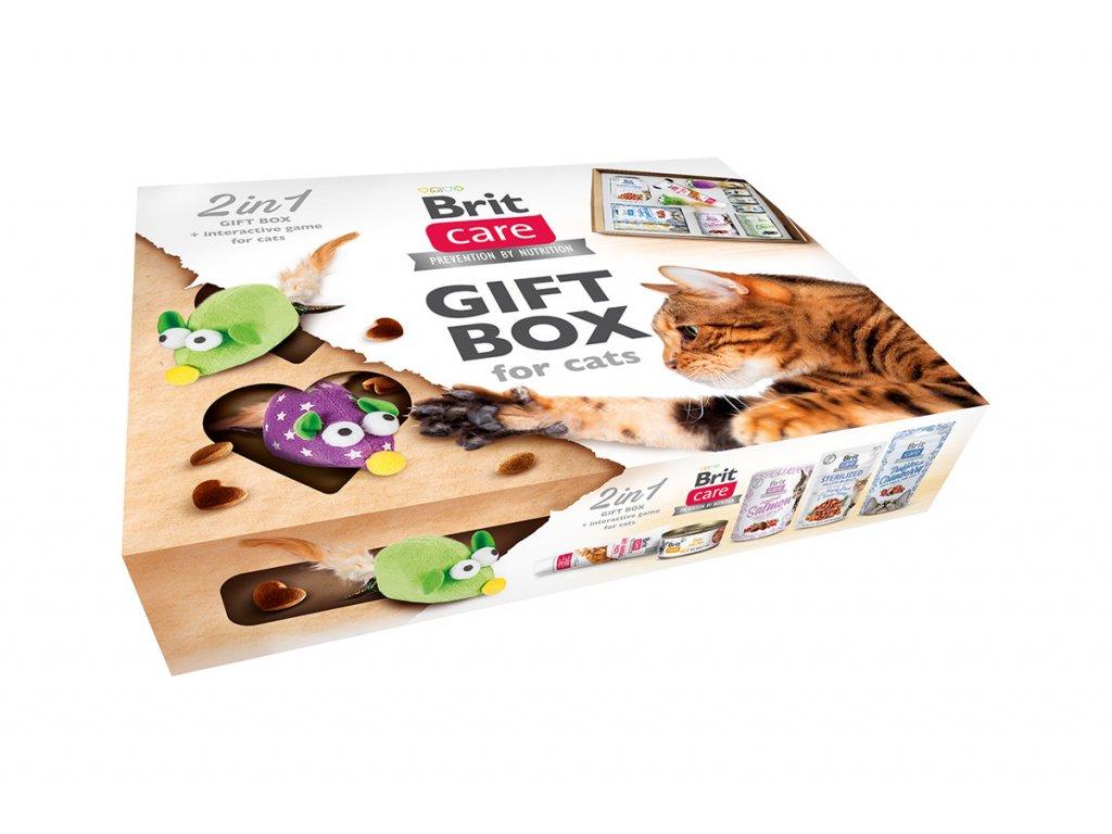 Brit Care Cat Gift Box 2v1