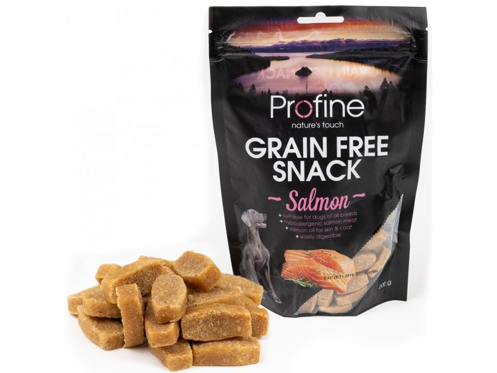 3234 profine grain free snack salmon 200g