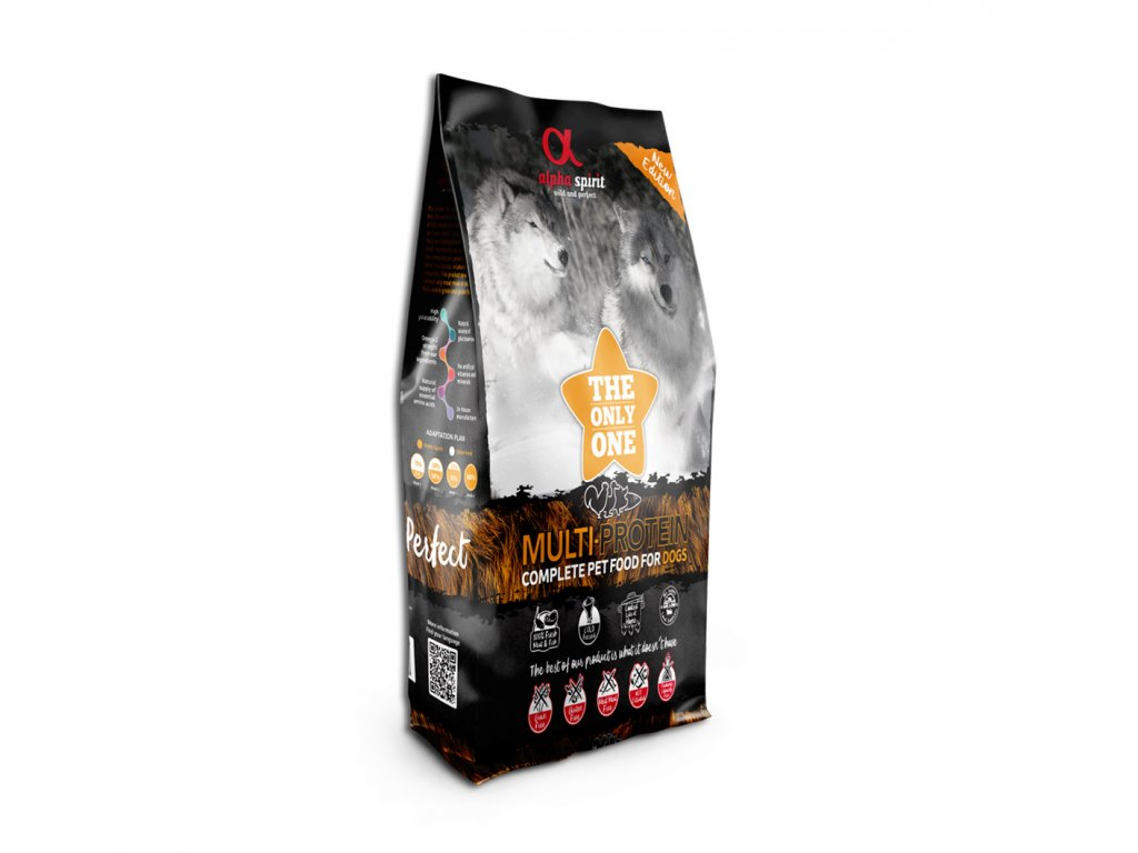 Alpha Spirit The Only One Dog Multiprotein 12 kg