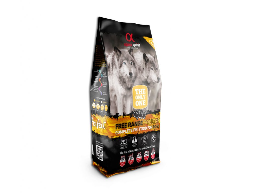 Alpha Spirit The Only One Dog Poultry 12 kg