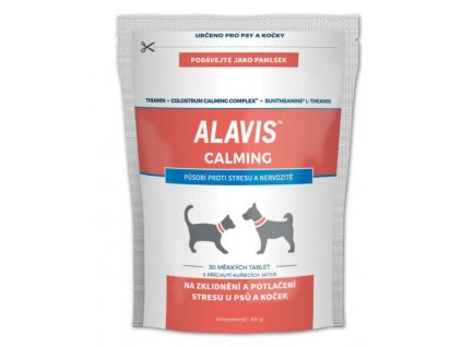 5460 alavis calming 45g 30 tablet