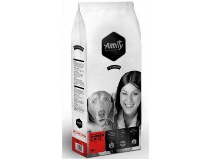 Amity Premium dog Chicken & Rice 15 kg