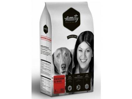 AMITY premium dog Chicken & Rice 3 kg
