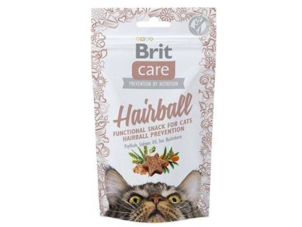 Brit Care Cat snack Hairball 50 g