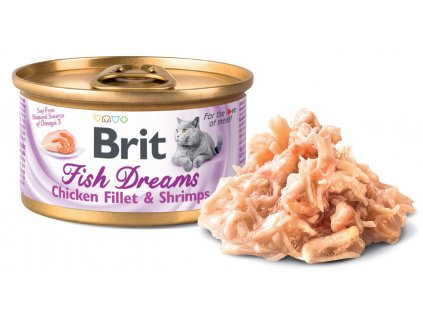 Brit Fish Dreams Chicken fillet & Shrimps 80 g