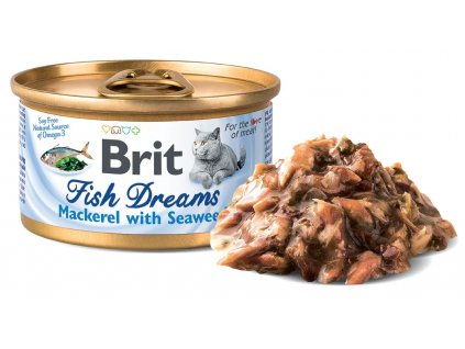 Brit Fish Dreams Mackerel & Seaweed 80 g