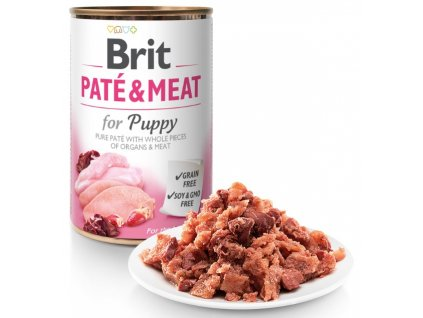 5427 brit pate meat puppy 400g