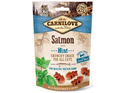 Carnilove Cat Crunchy Snack Salmon & Mint 50 g