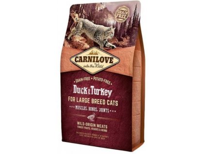 Carnilove Cat Duck & Turkey for Adult Large Cats 2 kg