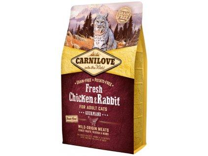 Carnilove Cat Fresh Chicken & Rabbit 2 kg