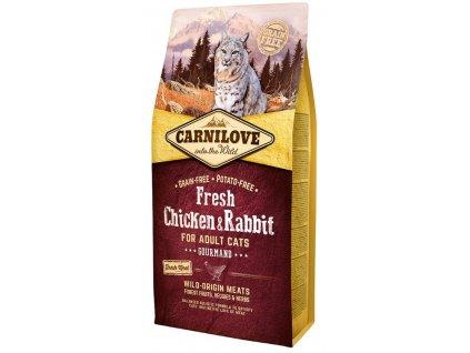 Carnilove Cat Fresh Chicken & Rabbit 6 kg