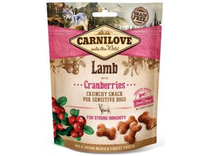 Carnilove Dog Crunchy Snack Lamb & Cranberries 200 g