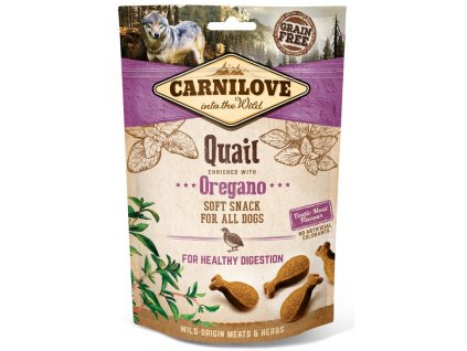 Carnilove Dog Semi Moist Snack Quail & Oregano 200 g