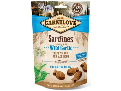 Carnilove Dog Semi Moist Snack Sardines & Wild garlic 200 g