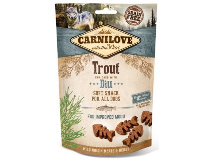 Carnilove Dog Semi Moist Snack Trout & Dill 200 g