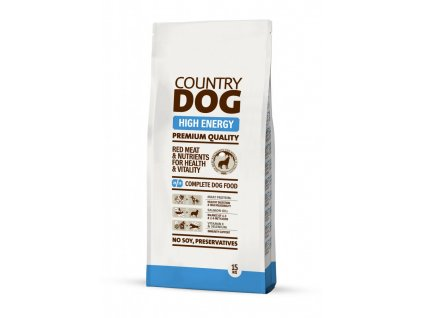 COUNTRY DOG High Energy 15kg | Tenesco.cz