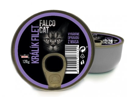 FALCO CAT králík filet 120 g