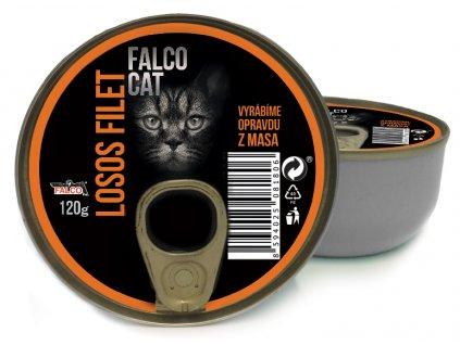 FALCO CAT losos filet 120 g