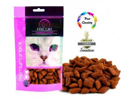 Fine Cat polštářek Ryba 100 g