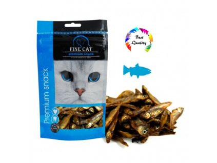 Fine Cat Rybička sušená