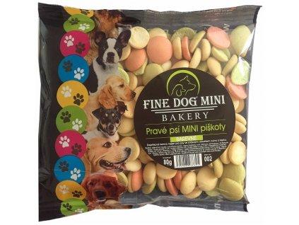 Fine Dog MINI Piškoty barevné 80 g