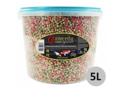 4593 fine fish koi color balls 5 litru vedro