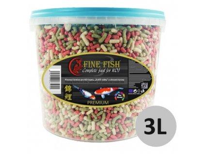 Fine Fish KOI Sticks vědro 3 litry
