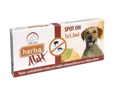 Herba MAX Spot On pro velké psy 1x1,5ml