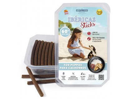Ibéricas Sticks tyčinky puppy 75 ks