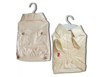 1506 kabatek croco artificial leather white m