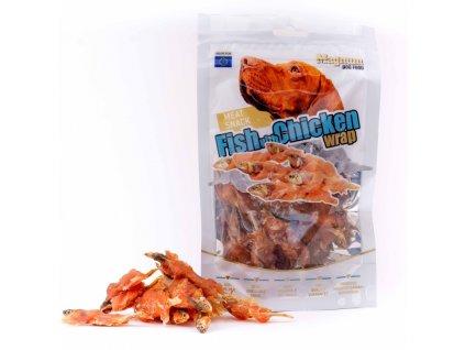 Magnum Fish with Chicken Wrap 80 g