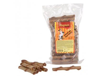 Magnum Rawhide roll stick Brown 12,5 cm 40 ks