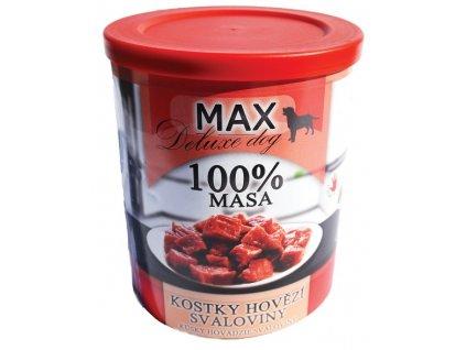 MAX deluxe kostky hovězí svaloviny 400 g