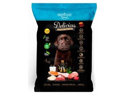 Mediterranean Delicias polovlhké krmivo štěně 800 g