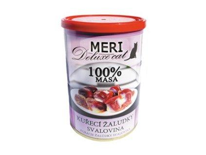 Meri Cat deluxe kuřecí žaludky svalovina 400 g