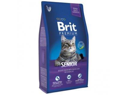Granule Brit Premium Cat Senior 1,5 kg