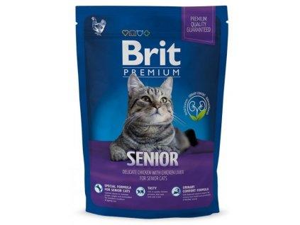 Granule Brit Premium Cat Senior 800 g
