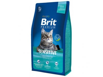 Granule Brit Premium Cat Sensitive 1,5 kg