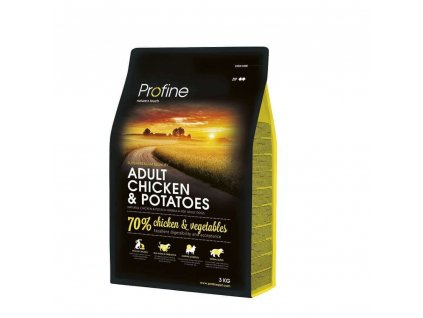 NEW Profine Adult Chicken & Potatoes 3kg | Tenesco