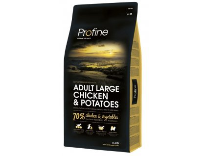 NEW Profine Adult Large Breed Chicken & Potatoes 15 | Tenesco.cz