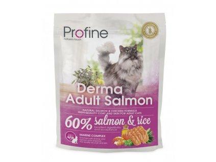 4392 new profine cat derma adult salmon 300g