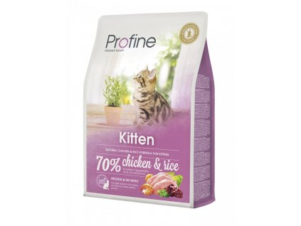 4368 1 new profine cat kitten 2kg