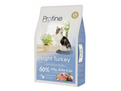 Profine Cat Light Turkey 10 kg