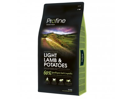 Profine Light Lamb & Potatoes 15kg  + Konzervy Profine hovězí 6x 400g