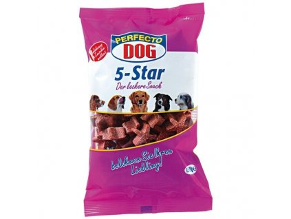 4560 perfecto dog 5 star hovezi hvezdicky 150g