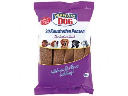 4647 perfecto dog masove platky s hovezim bachorem 10ks 200g
